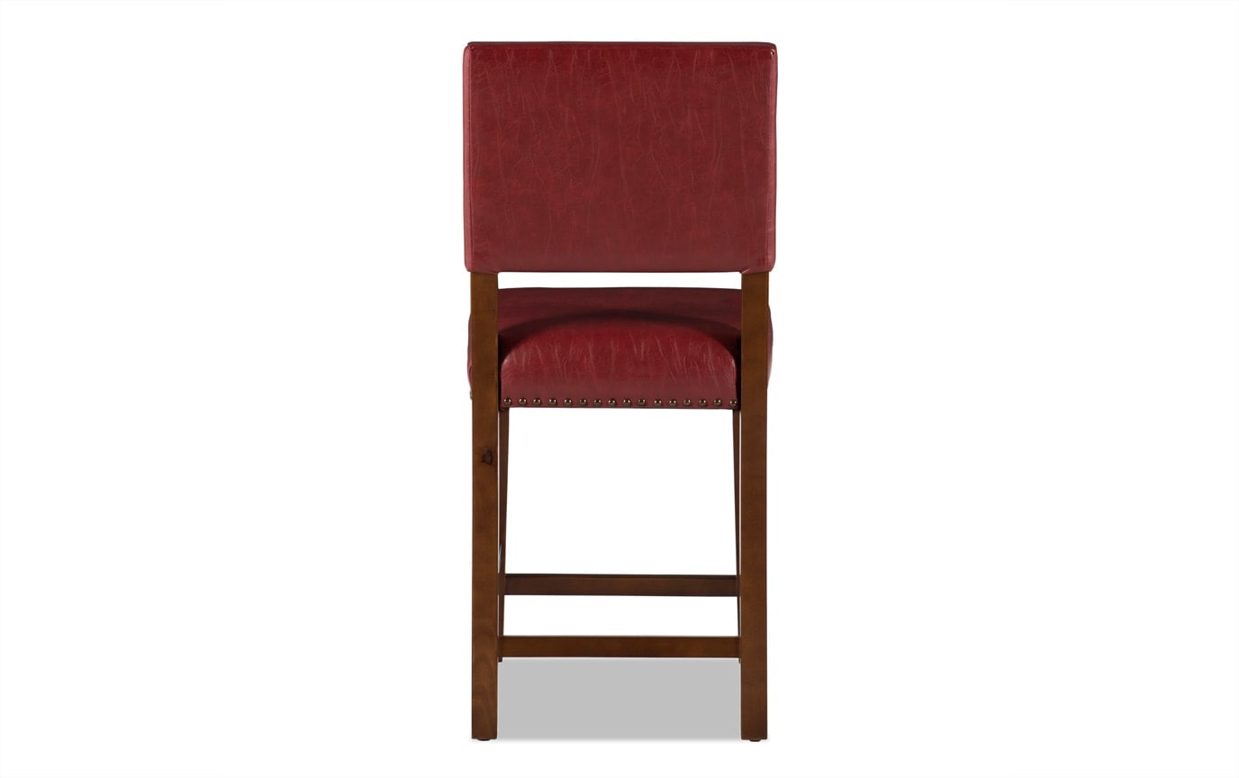 Owen Red Counter Stool