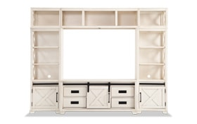 """Montana 55"""" White Complete Wall System"""