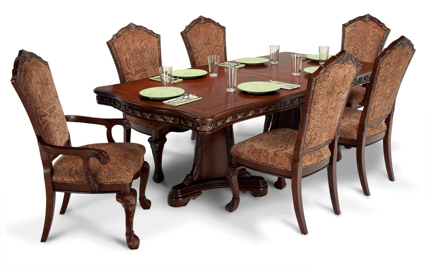 Fabulous Majestic 7 Piece Dining Set Interior Design Ideas Truasarkarijobsexamcom