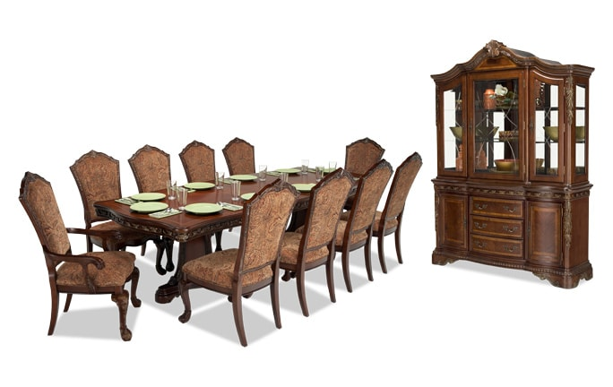 Majestic 13 Piece Dining Set with China