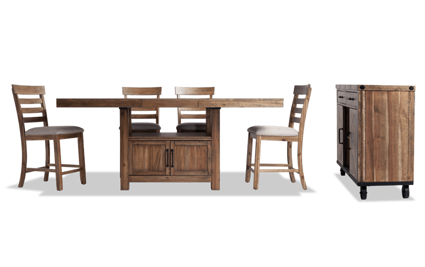 Sonoma Natural 6 Piece Counter Set with Server