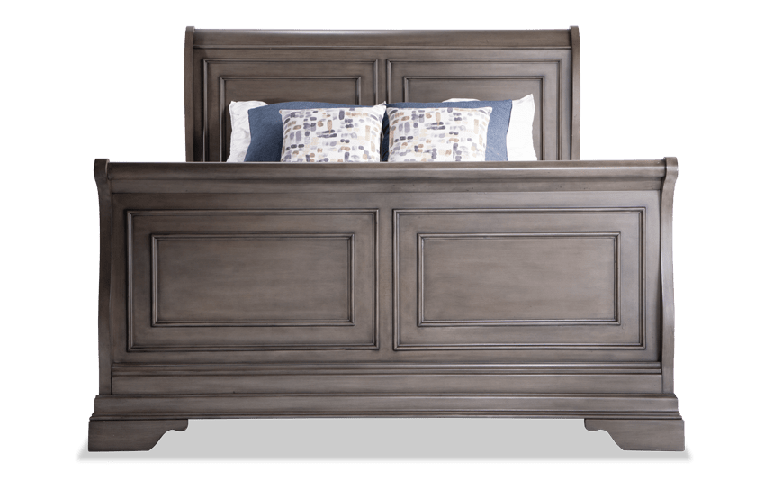 Louie Louie Queen Gray Bed