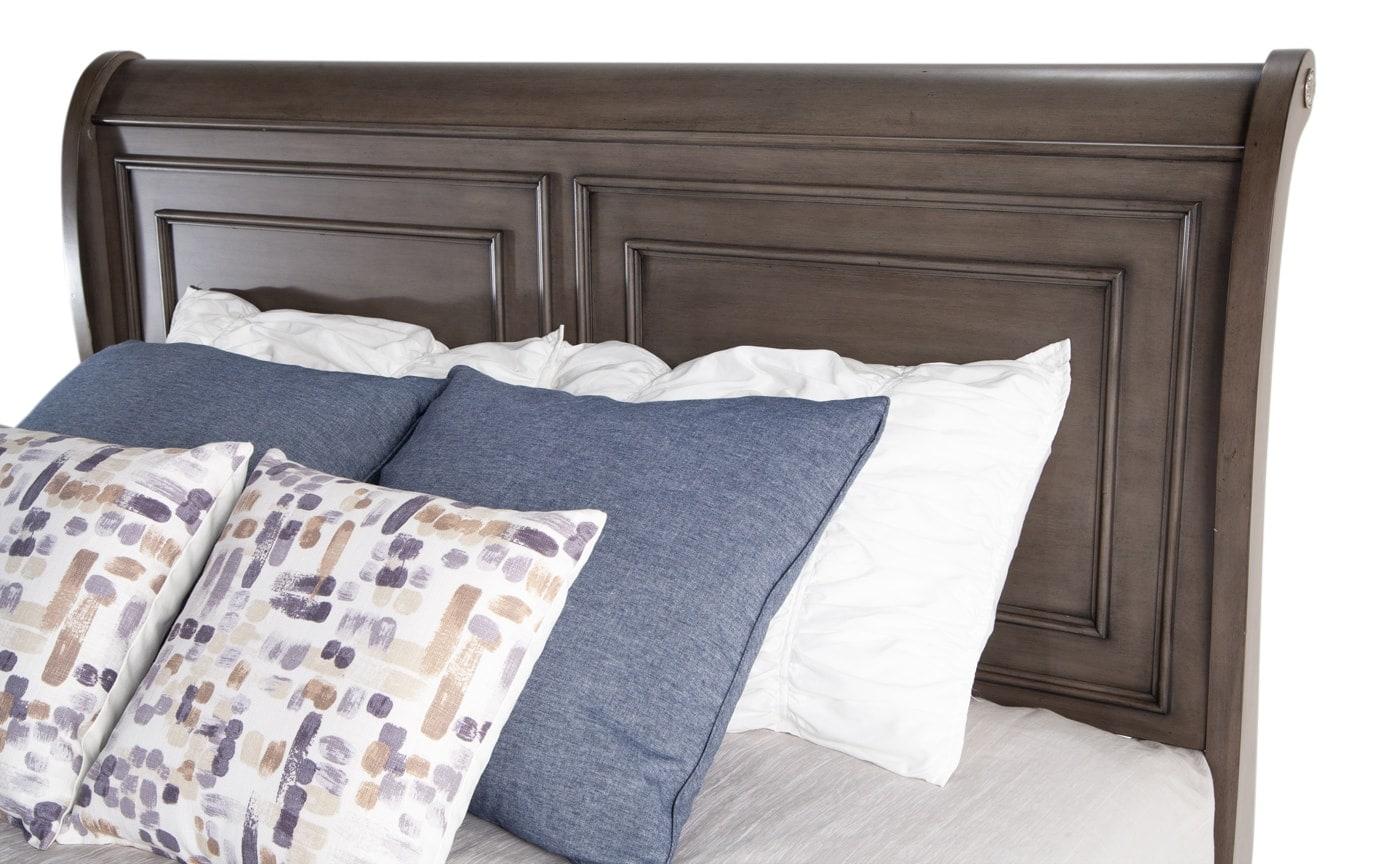 Louie Louie Full Gray Bed