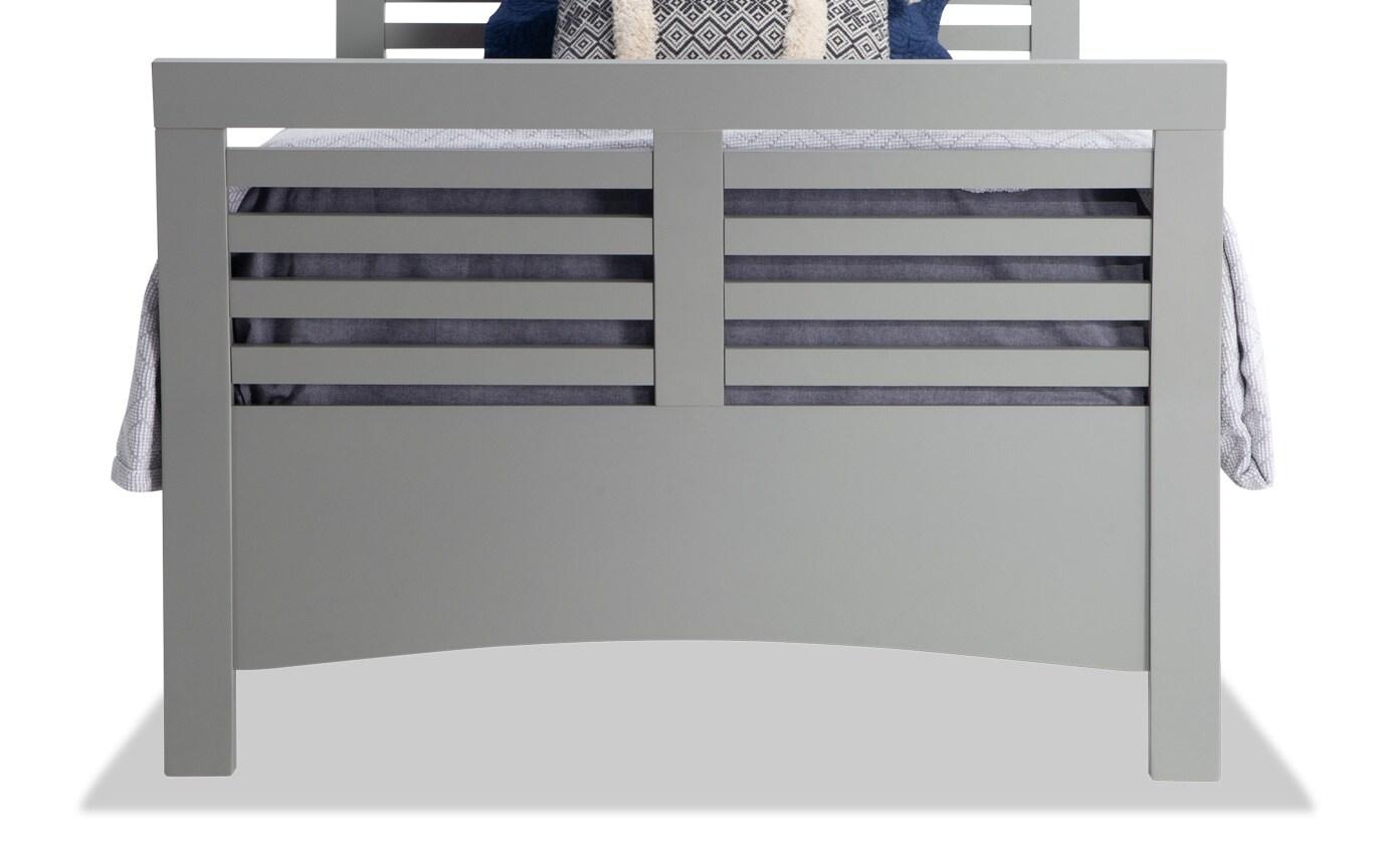 Dalton Twin Gray Bed