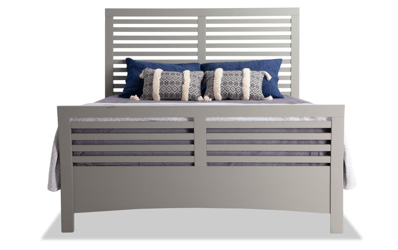 Dalton King Gray Bed