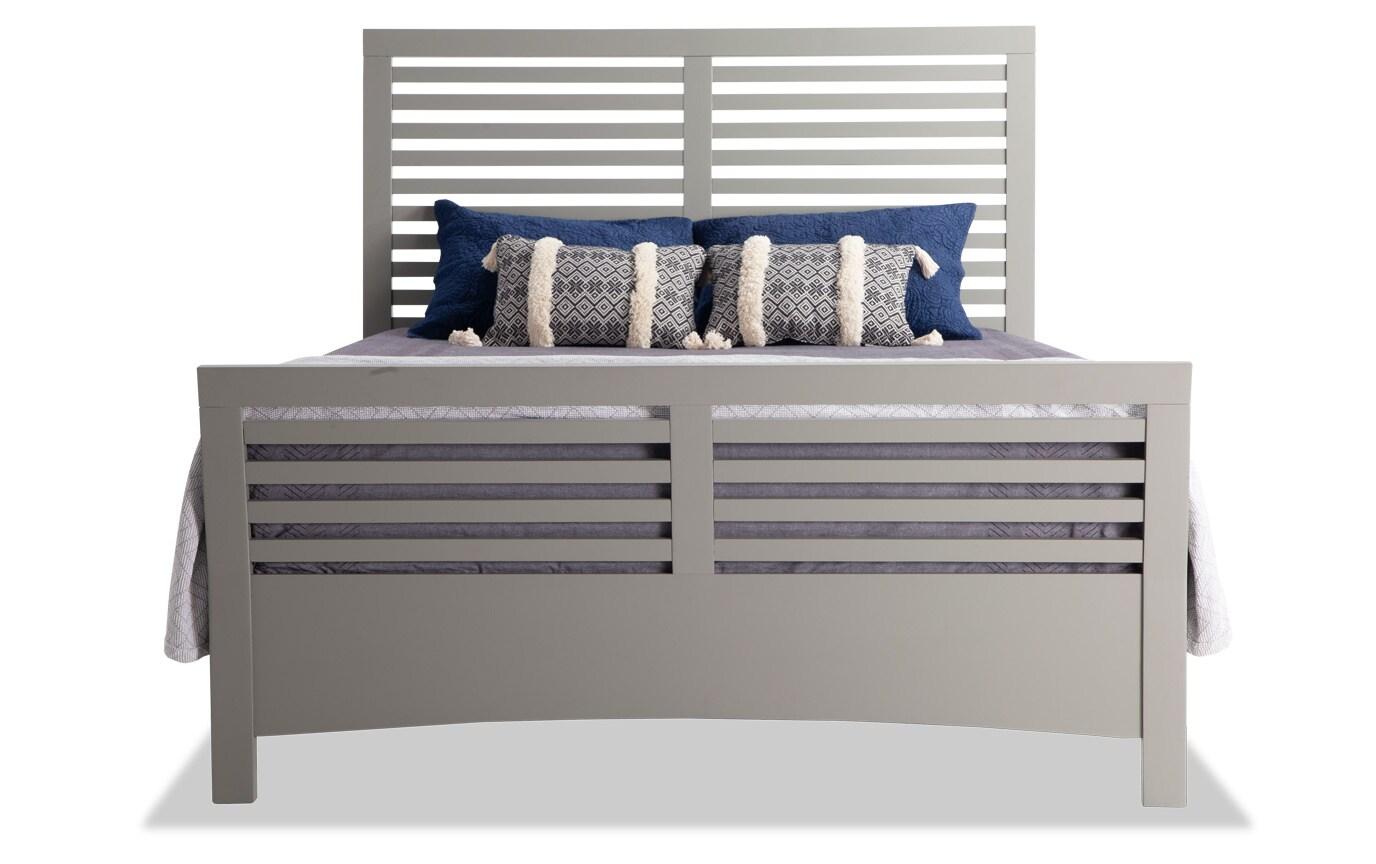 Dalton Full Gray Bedroom Set