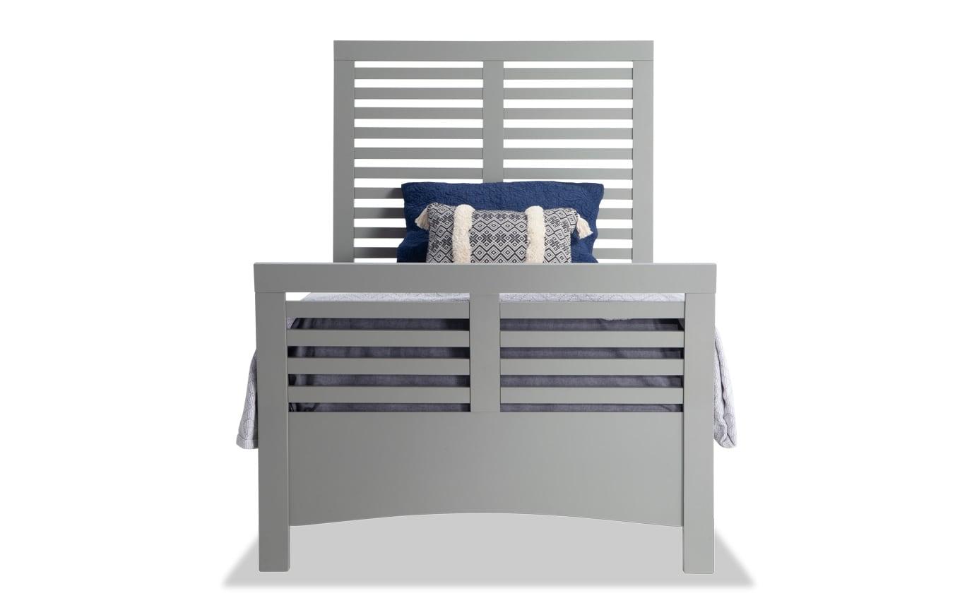 Dalton Twin Gray Bedroom Set