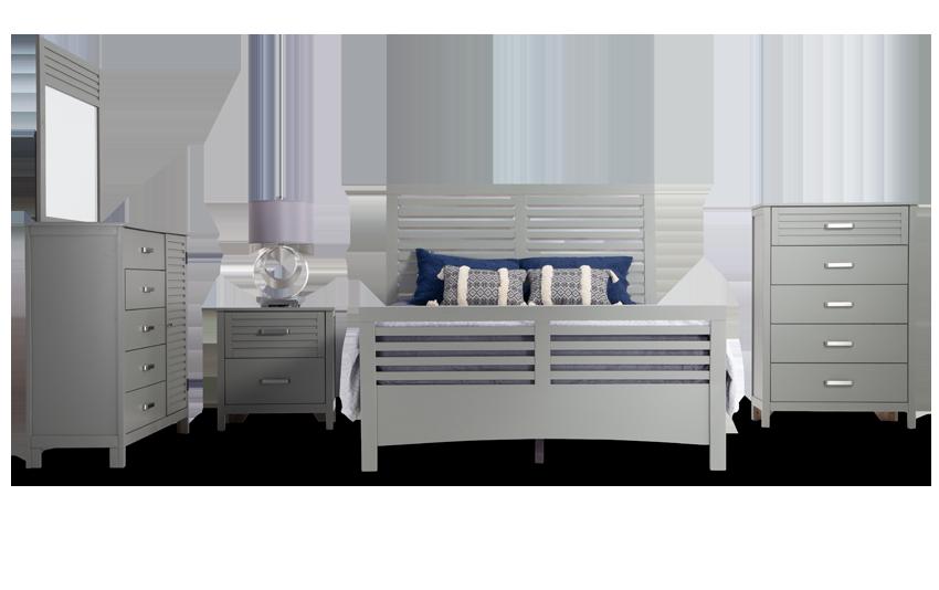 Dalton Queen Gray Bedroom Set