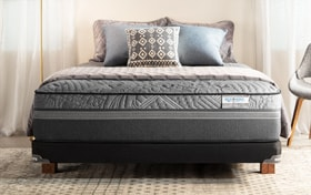 Bob-O-Pedic Hybrid Radiance Twin Firm Low Profile Mattress Set
