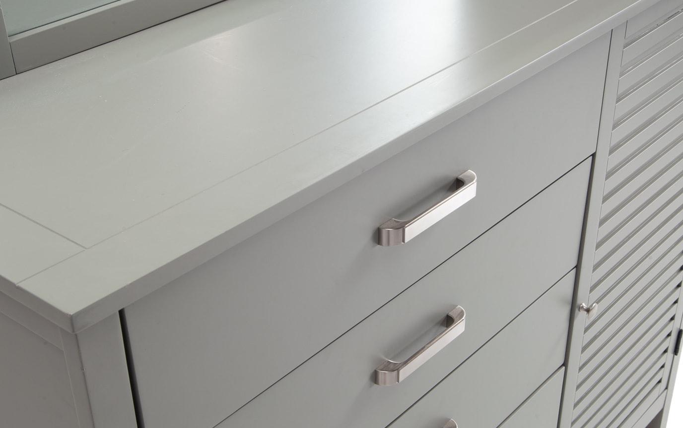Dalton Full Gray Storage Bedroom Set