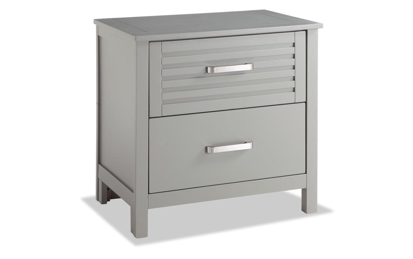 Dalton Queen Gray Storage Bedroom Set
