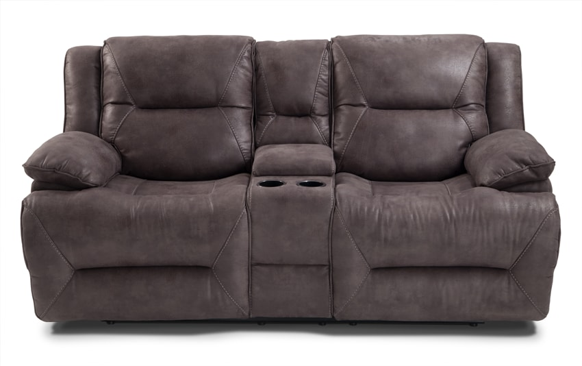 Jennings Power Reclining Console Loveseat