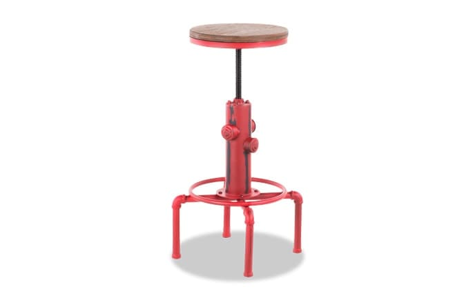 Hayden Adjustable Swivel Bar Stool