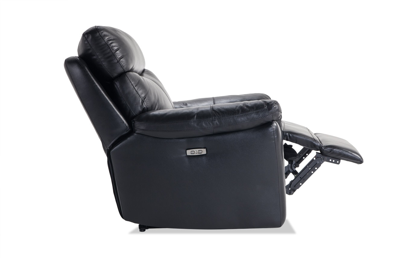 Dynamic Leather Power Recliner Bobs Com