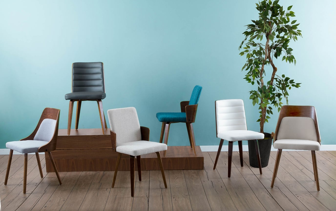 Set of 2 Camille Dining Chairs