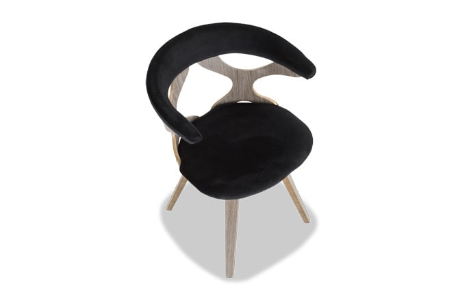 Petunia Velvet Dining Chair