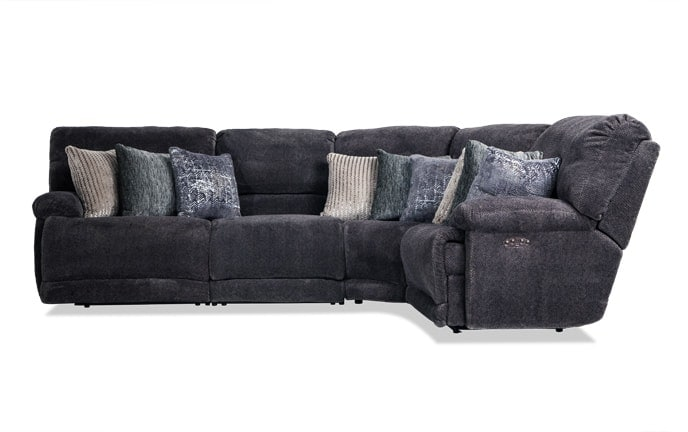 Alpine 4 Piece Power Reclining Sectional