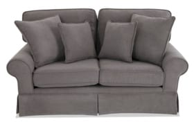 "Katie 72"" Charcoal Sofa"