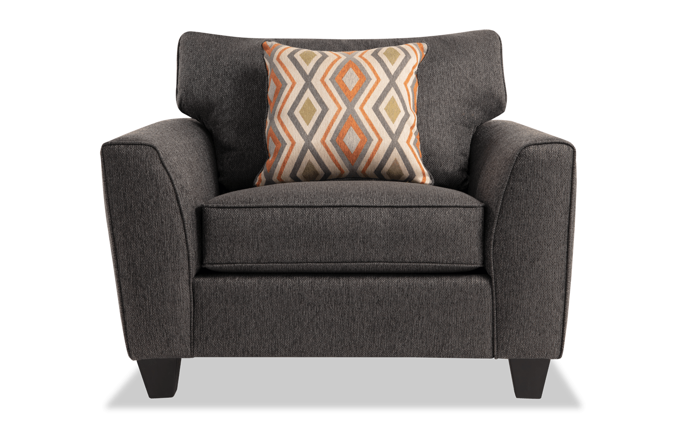 Admirable Capri Graphite Chair Caraccident5 Cool Chair Designs And Ideas Caraccident5Info