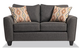 Capri Graphite Loveseat
