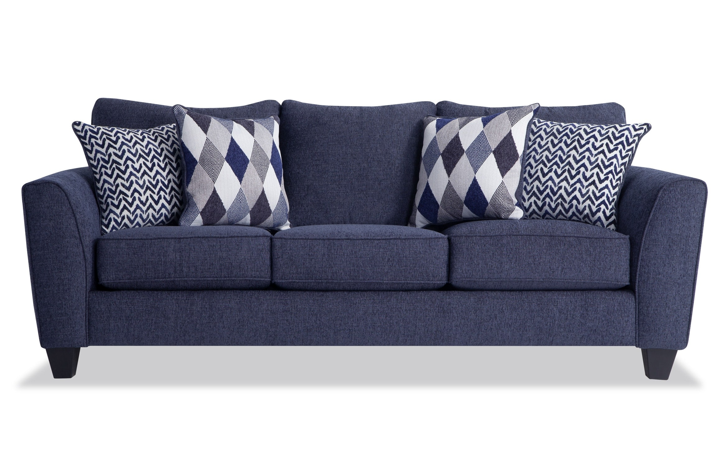 Capri Denim Sofa Bobs