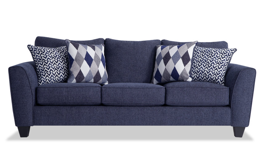 Capri Denim Sofa Bobs Com