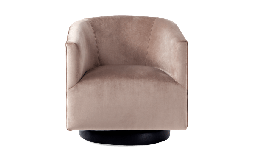 Keaton Camel Swivel Chair
