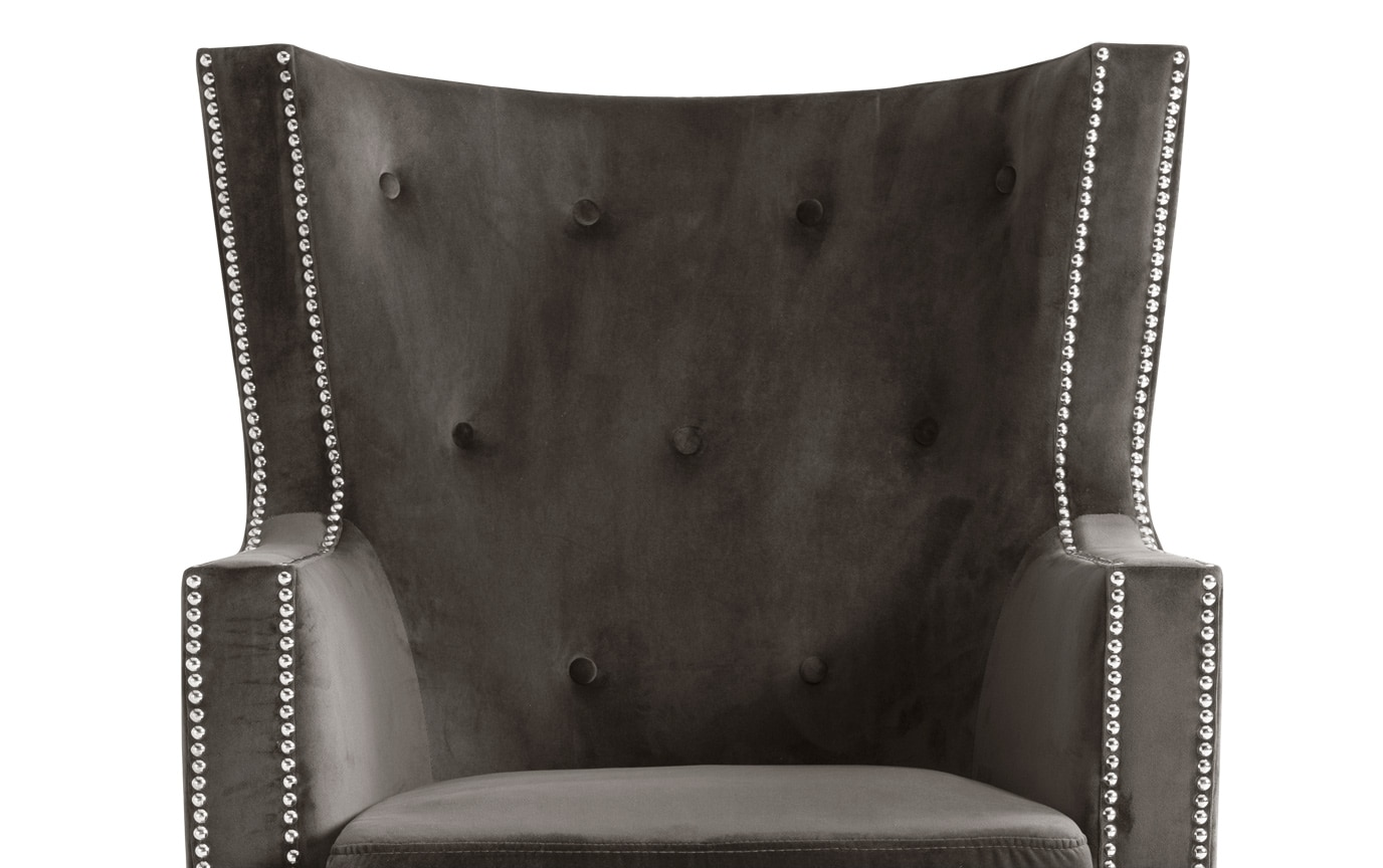 Gabby Charcoal Chair