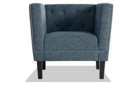 Olivia Ocean Blue Chair