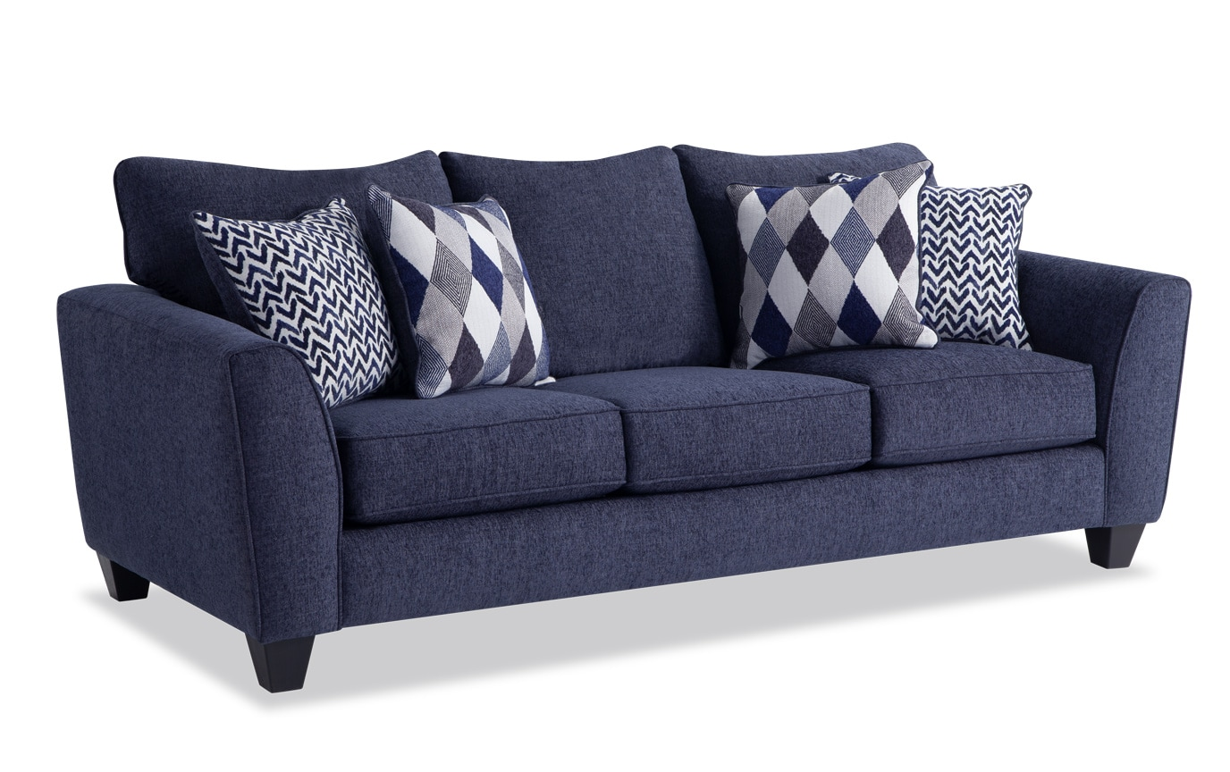 Capri Bob-O-Pedic Sleeper Sofa & 2 Chairs