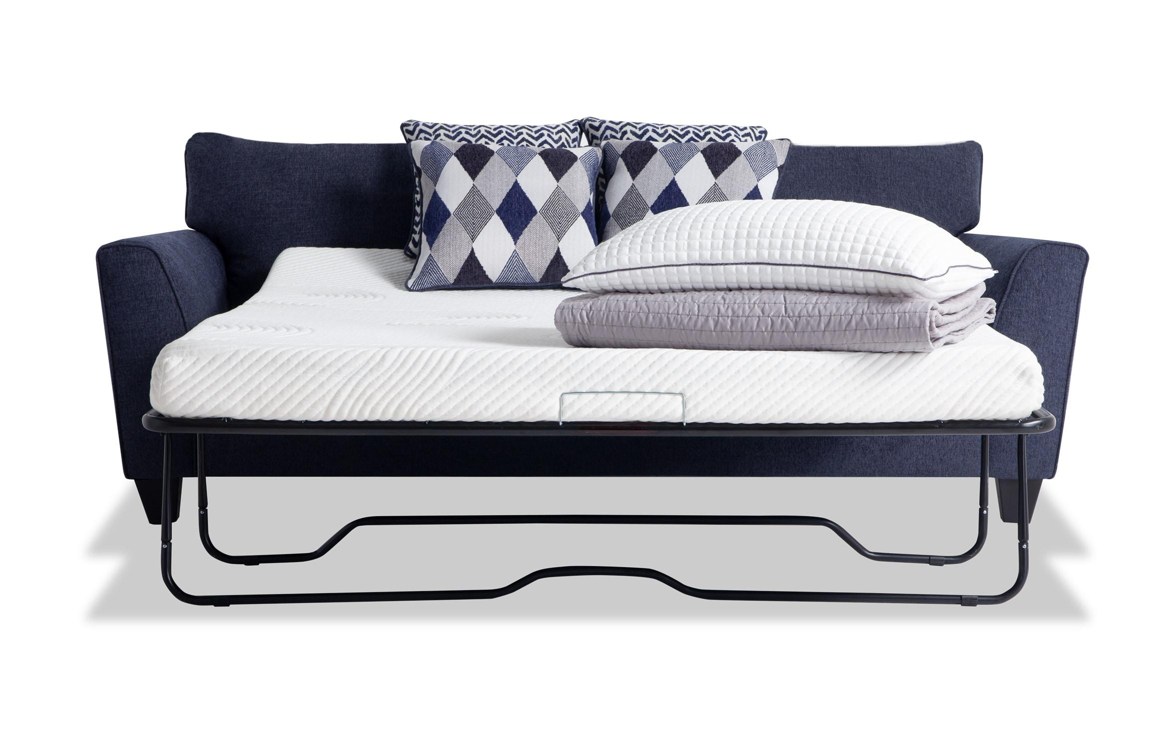 - Capri Denim Bob-O-Pedic Sleeper Sofa Bobs.com