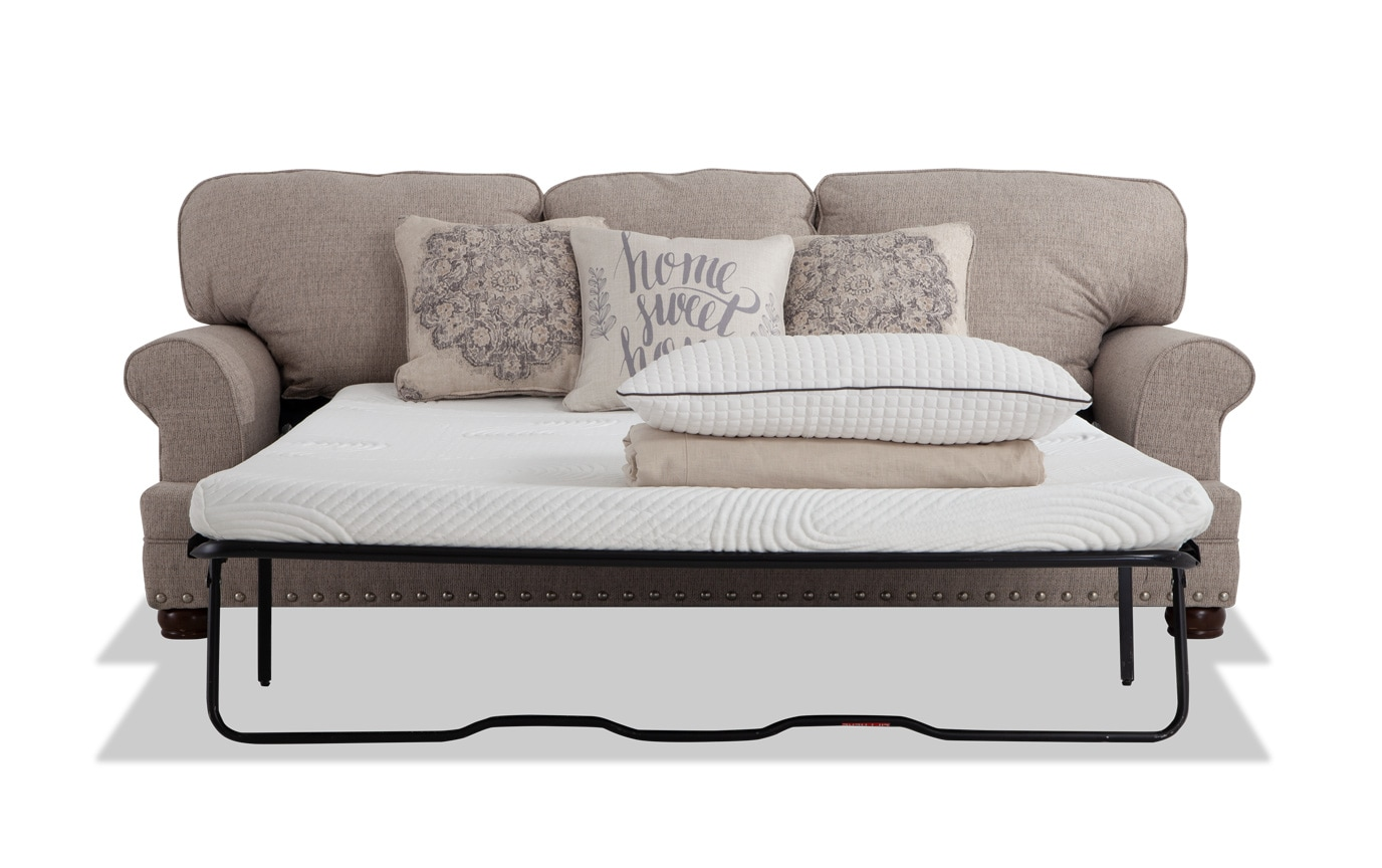 Sleeper Sofa.Charleston Bob O Pedic Queen Sleeper Sofa Loveseat