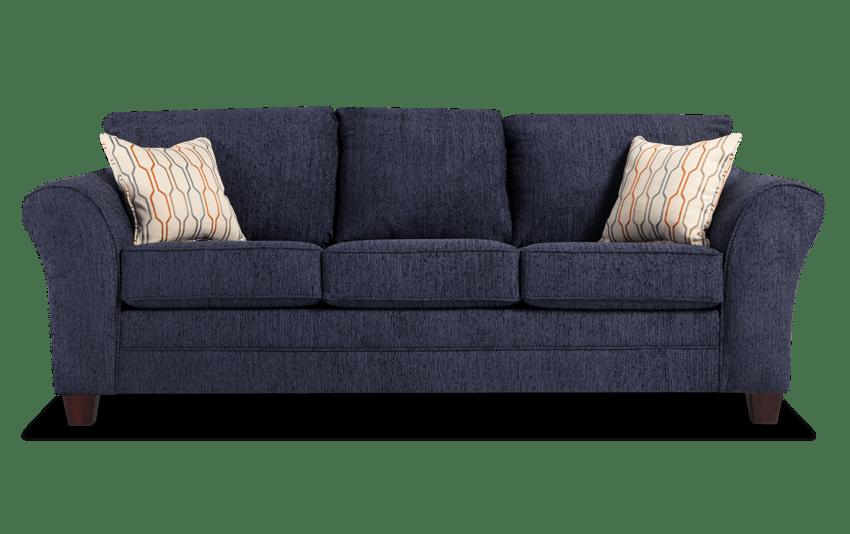 Adrina Navy Sofa