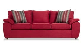Tristan Merlot Sofa