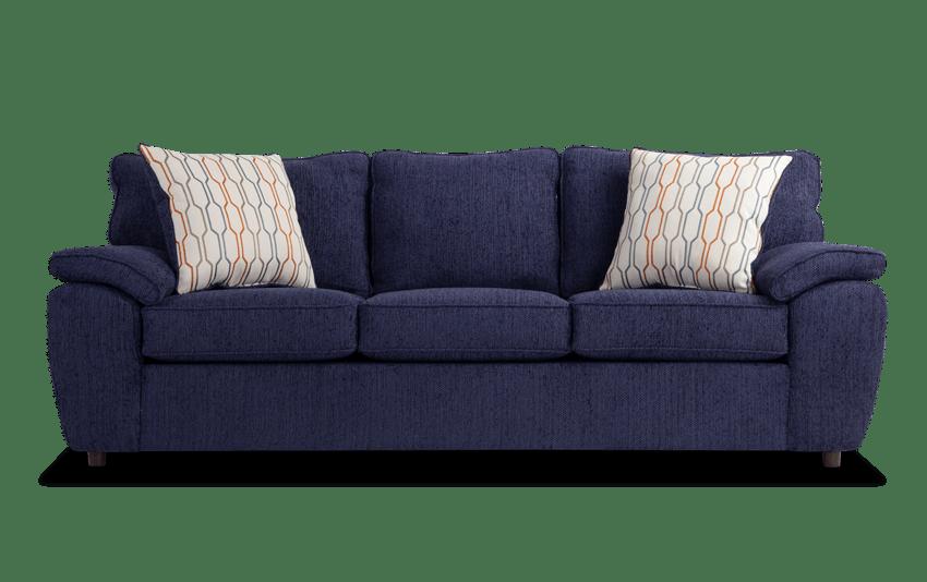 Tristan Navy Sofa