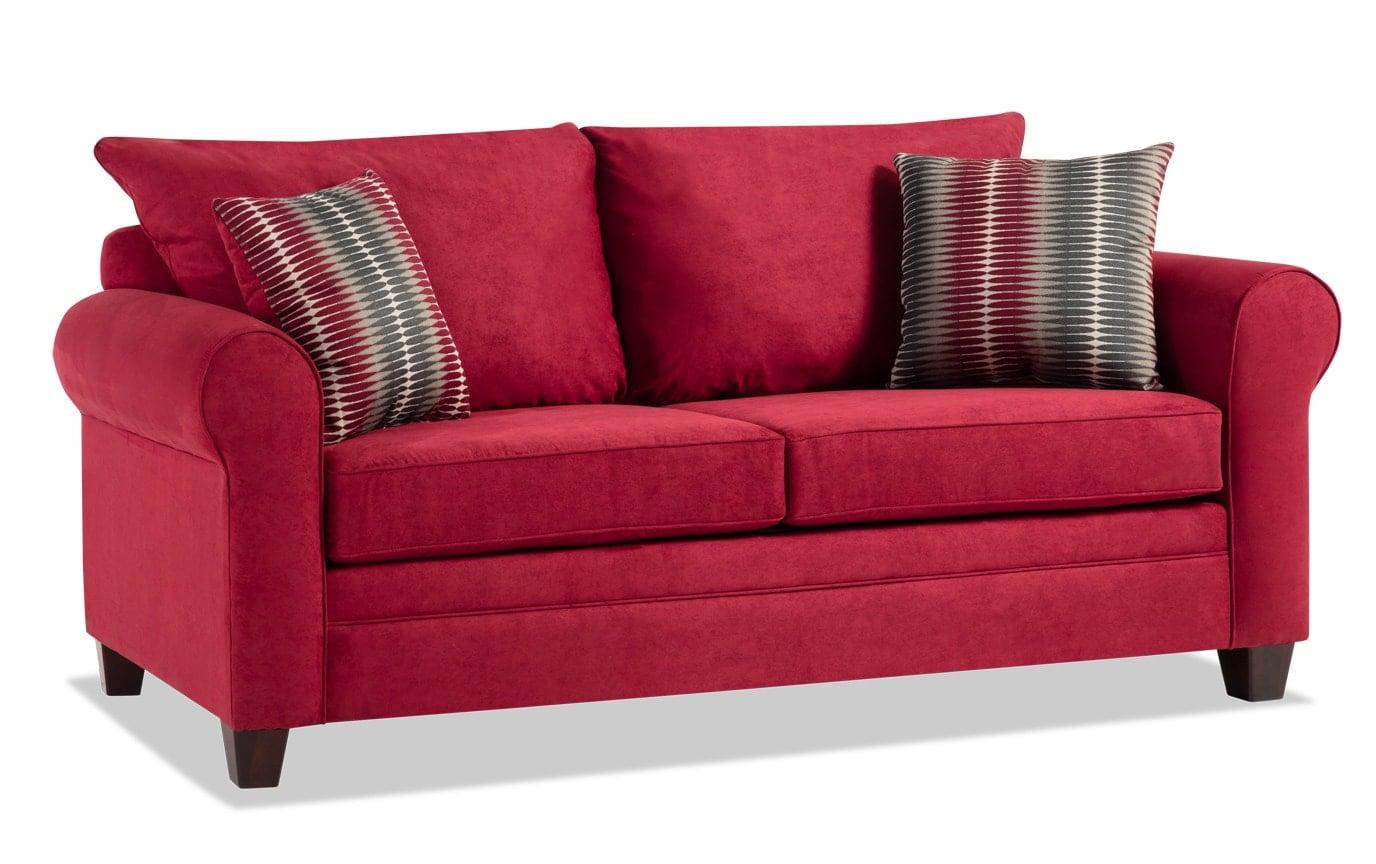 Banner Merlot Sofa