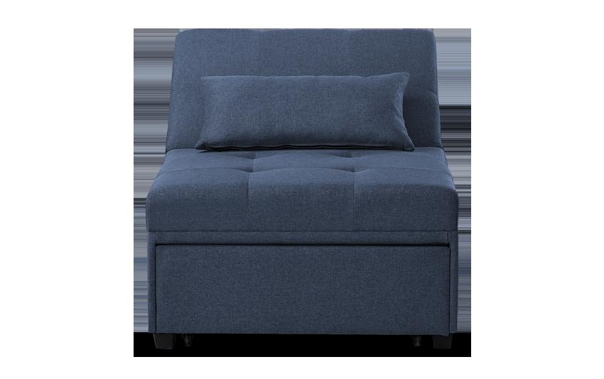 Evolution Navy Bed