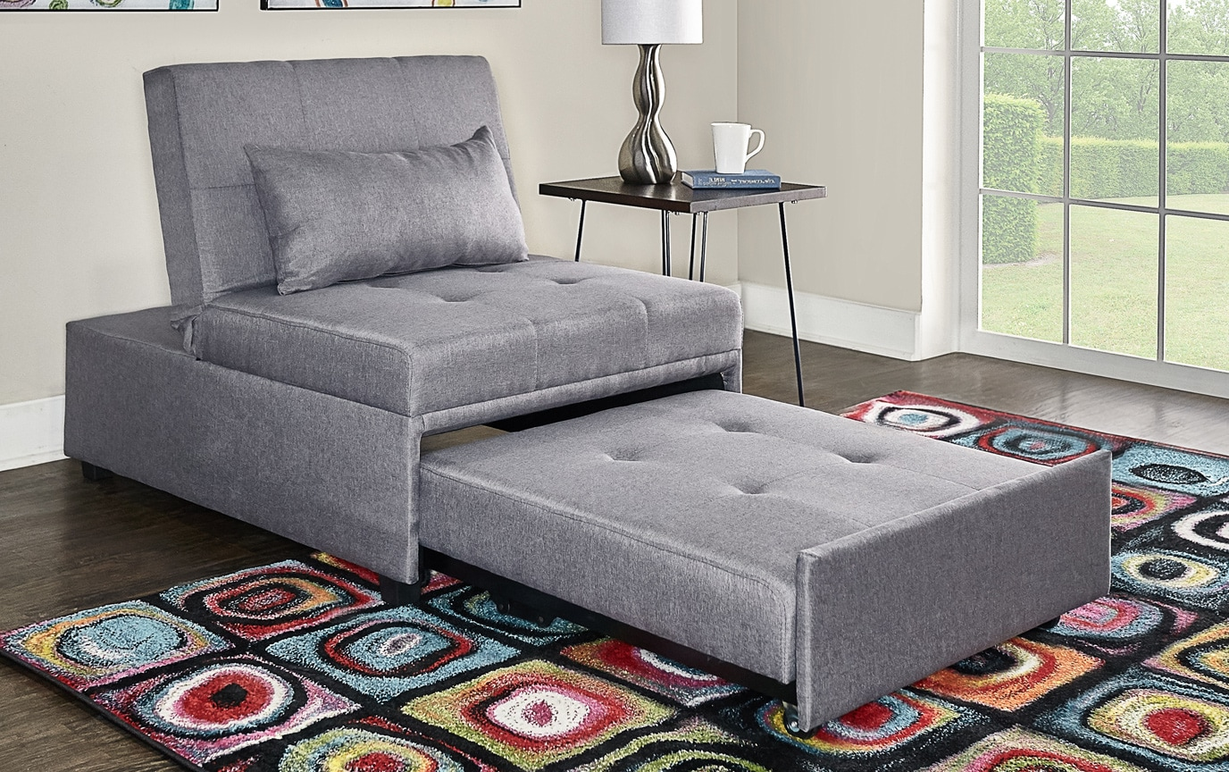 Evolution Gray Bed