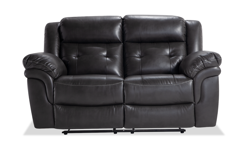 Navigator Gray Power Loveseat