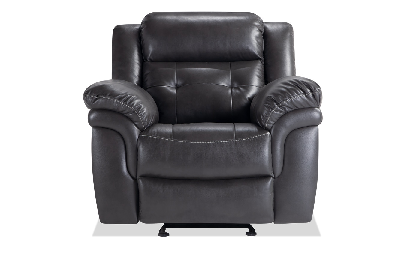 Navigator Gray Power Recliner