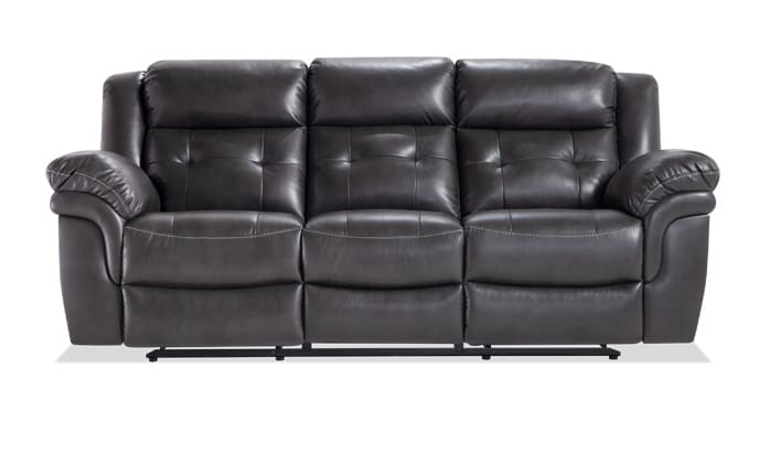 Navigator Gray Power Reclining Sofa