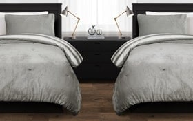 Hale Striped 2 Piece Twin XL Comforter Set