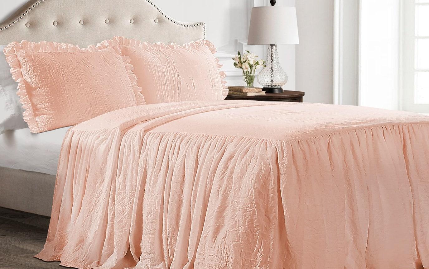 Danielle Ruffle Skirt Bedspread Set