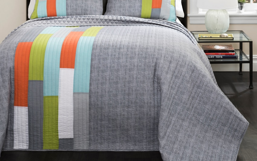 Mikey 2 Piece Twin Quilt Set