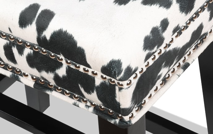 Kristen Cowprint Stool