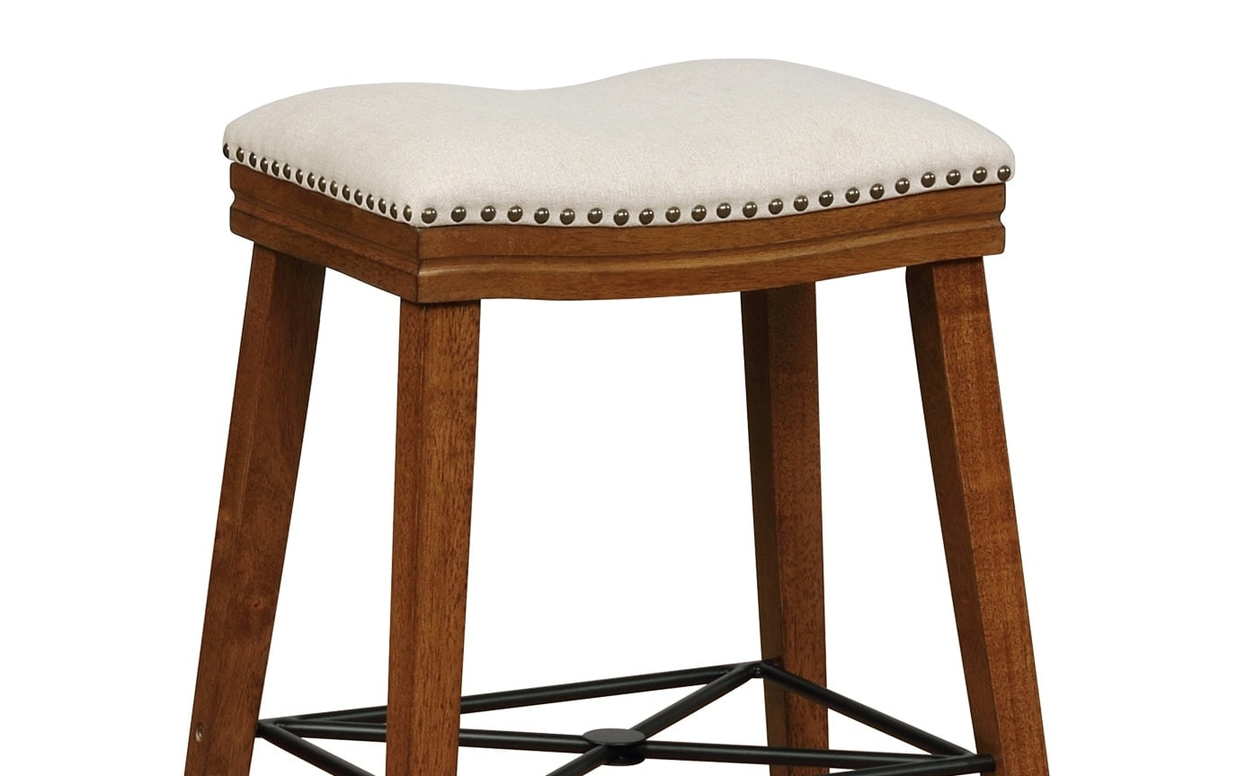 Vanessa Walnut Counter Stool