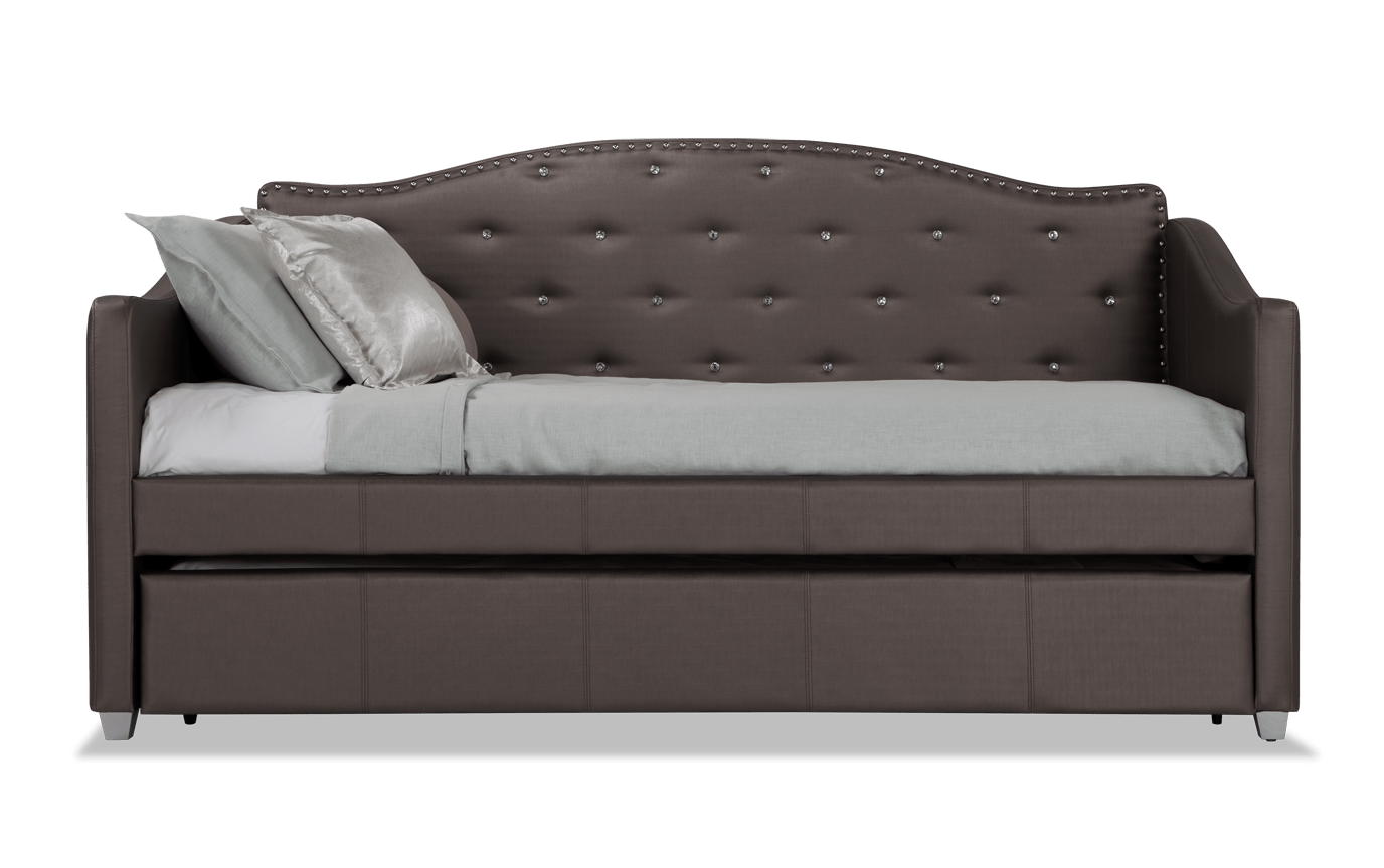Peachy Madelyn Platinum Daybed With Trundle Short Links Chair Design For Home Short Linksinfo