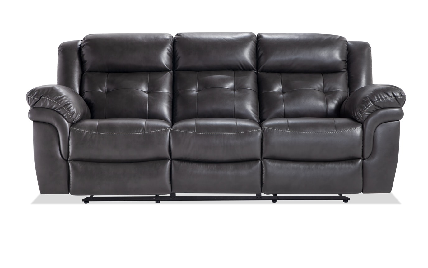 Navigator Gray Power Reclining Sofa Set