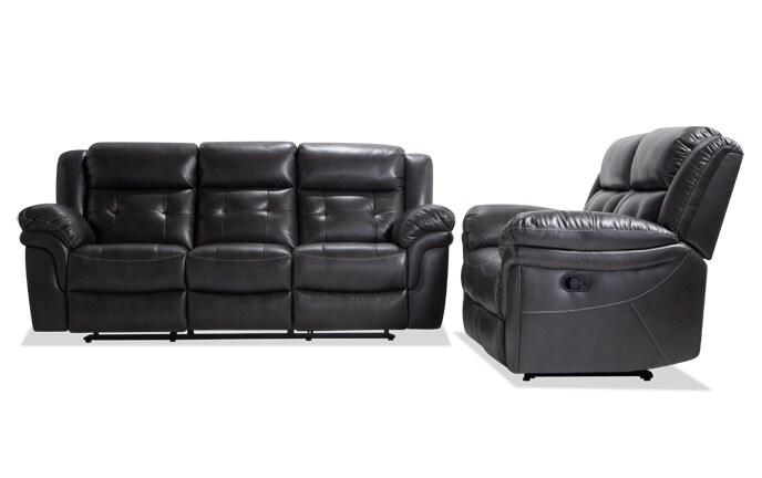 Navigator Gray Seating Bobs Com