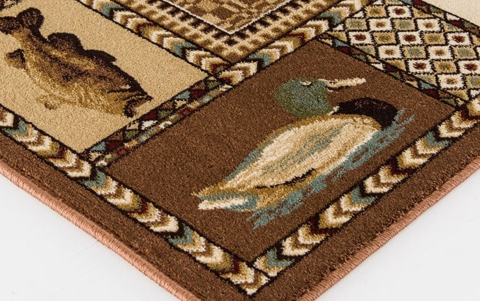 Cabin Brown Rug